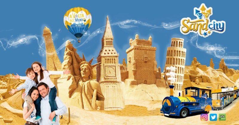 SandCity – Festival Internacional de Escultura em Areia