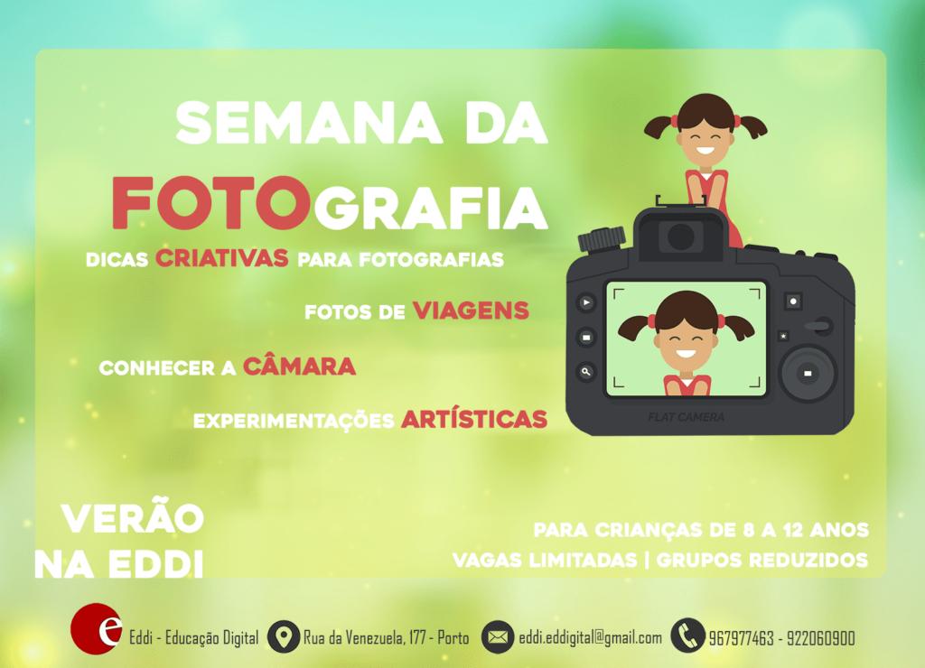 Semana de Fotografia para Crianças | Verão na EDDI