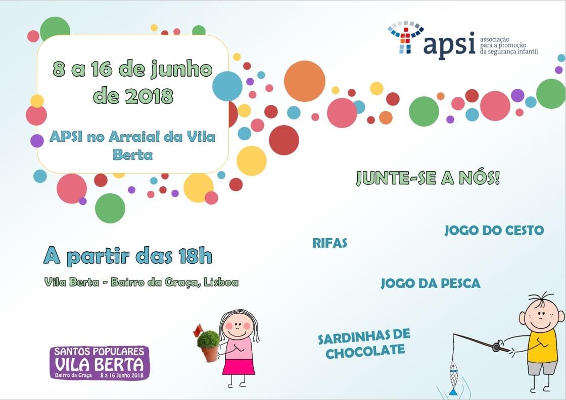 APSI no Arraial da Vila Berta – Santos Populares