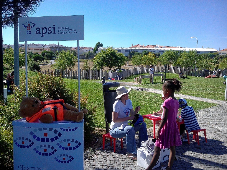 Clínica de Segurança Infantil no Parque Marechal Carmona