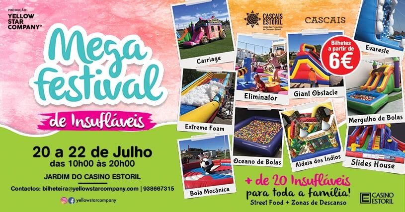 Mega Festival de Insufláveis