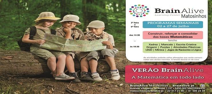 Programa de Verão BrainAlive Matosinhos