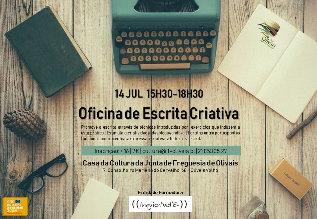 Oficina de escrita criativa