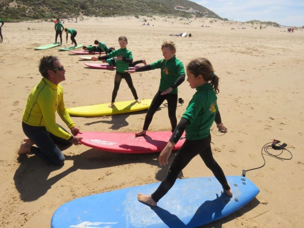 odeceixe surf camp