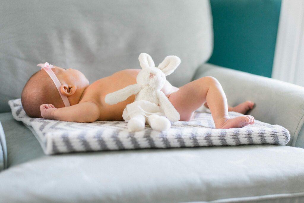 bebé recém nascido visitas