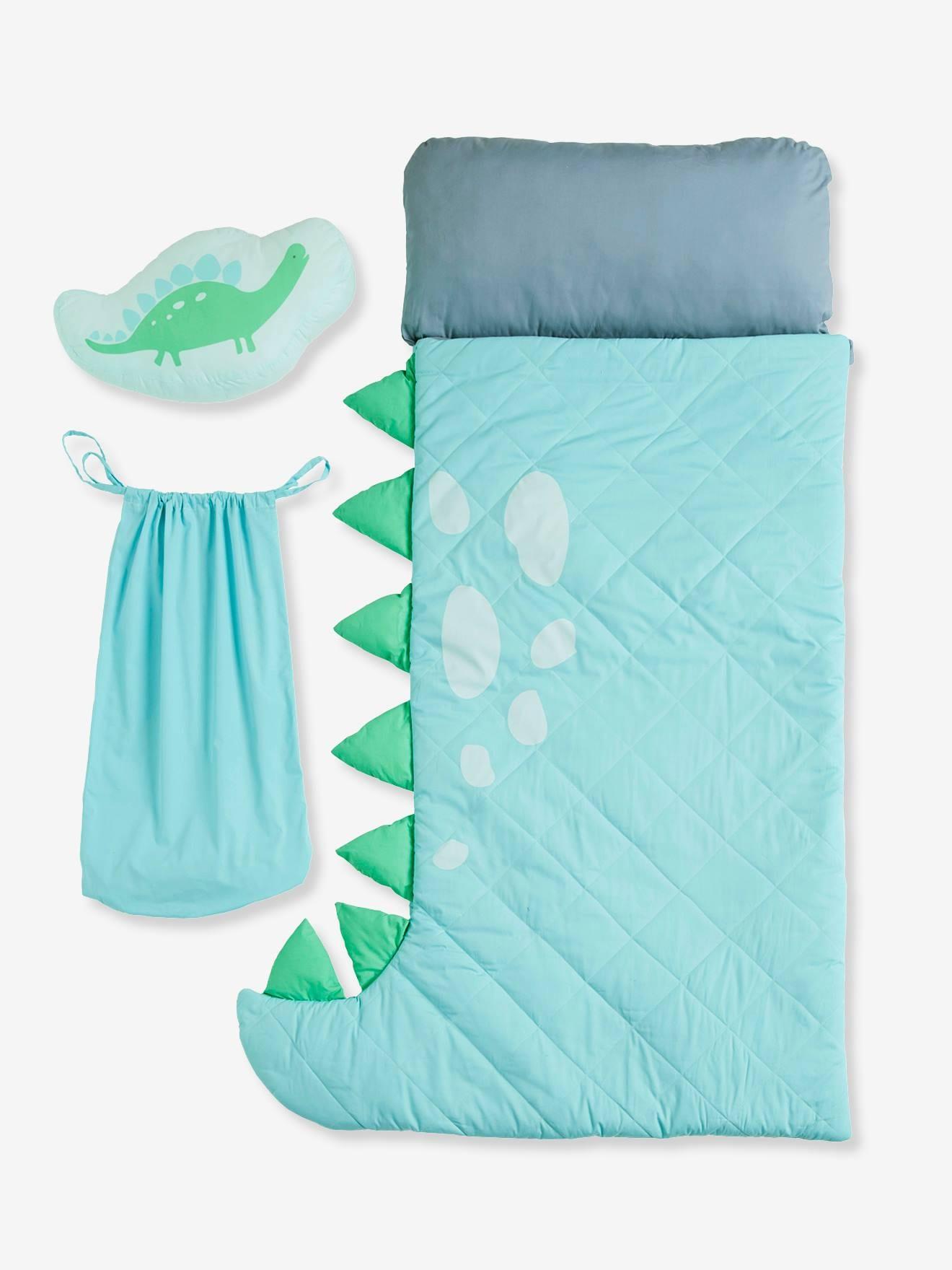 saco cama dinossauro