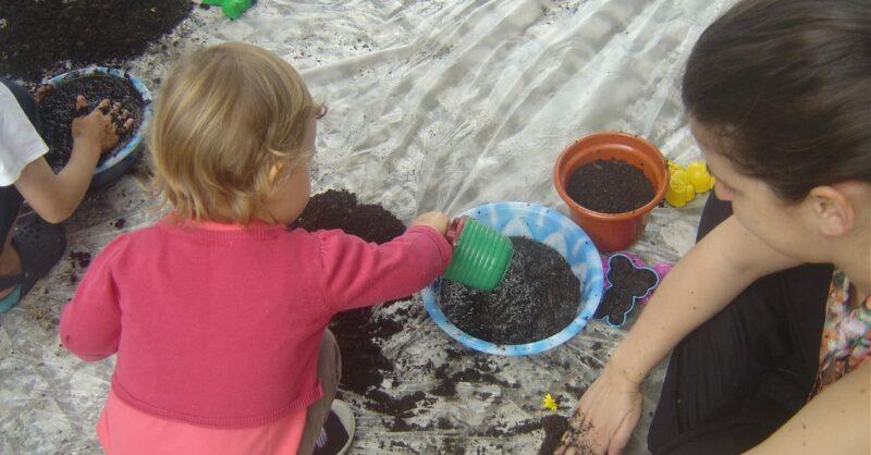 Oficina – Vamos Jardinar! Para sujar e brincar em família a partir dos 15 meses
