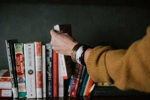 livros e família