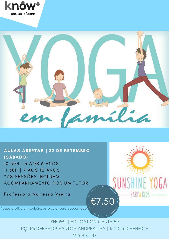 Yoga em Família | Aula Aberta