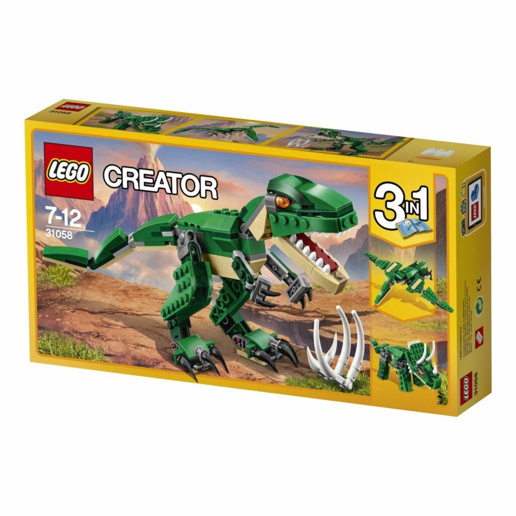 set LEGO® Creator Dinossauros Ferozes