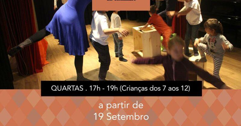 Teatro para Crianças durante o Ano Letivo