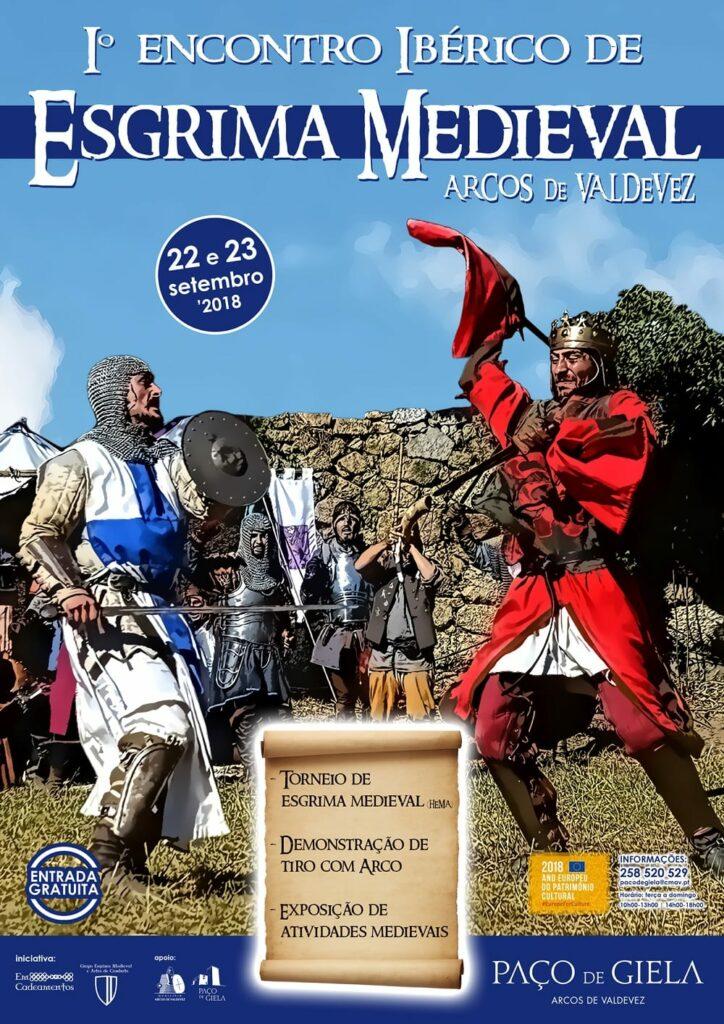 Iº Encontro Ibérico de Esgrima Medieval