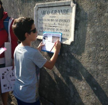 Visita-jogo 'Do Aqueduto ao Reservatório da Patriarcal'