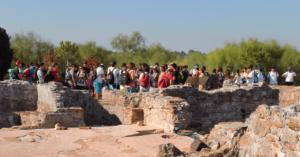 Programa Educativo das Ruínas Romanas de Troia