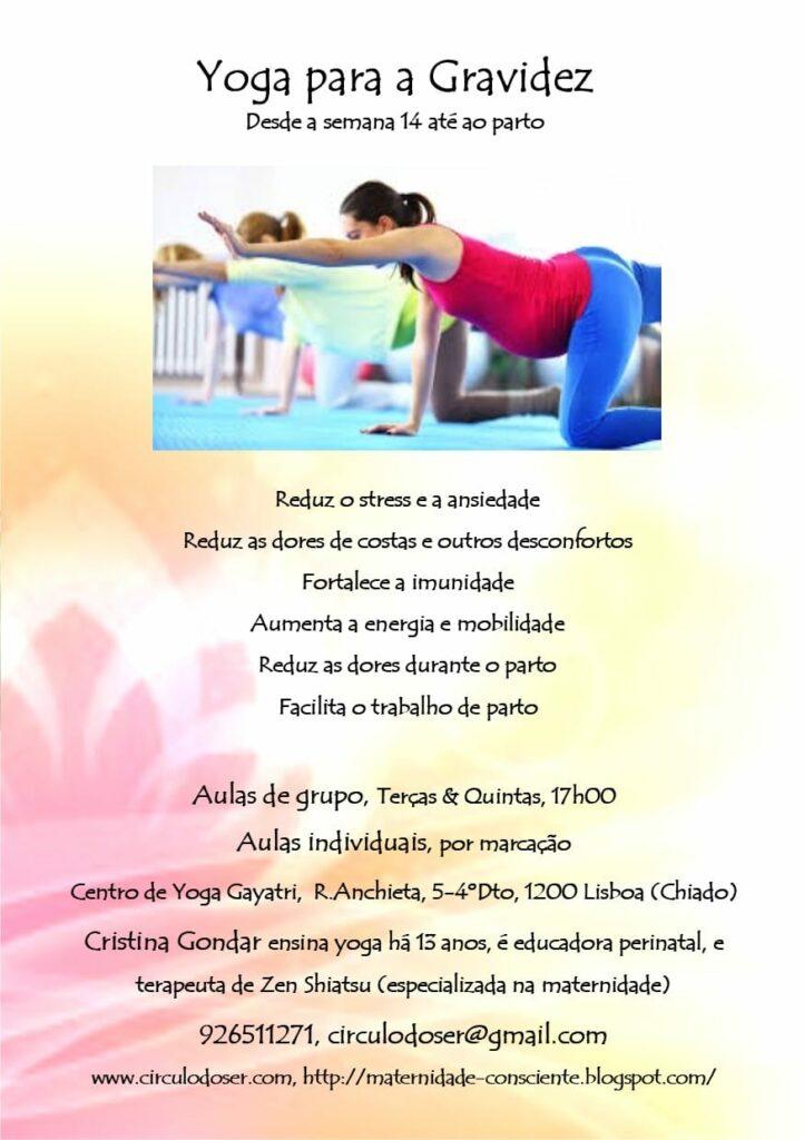 Yoga durante a Gravidez