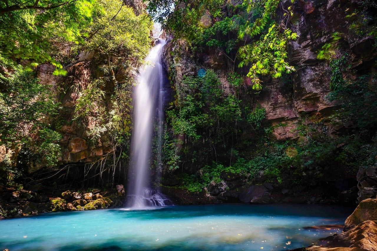 férias em família - Costa Rica - cascata