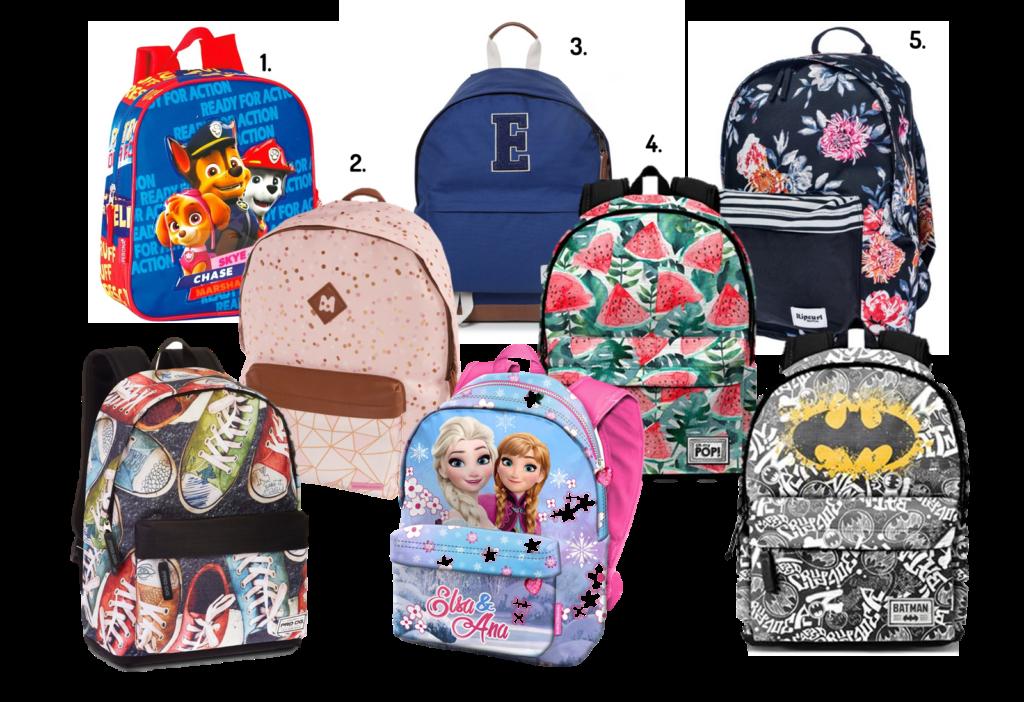 mochilas escolares 2018