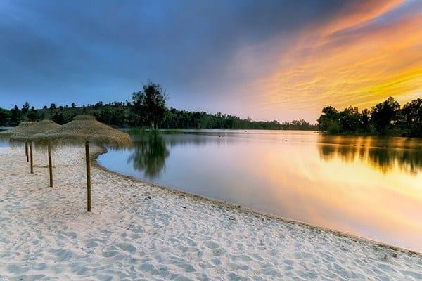 praias fluviais do alentejo - praia mina de são domingos