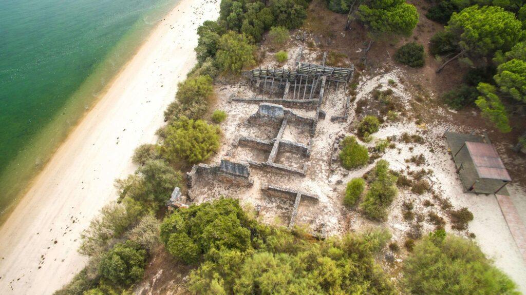 ruinas romanas Troia Resort