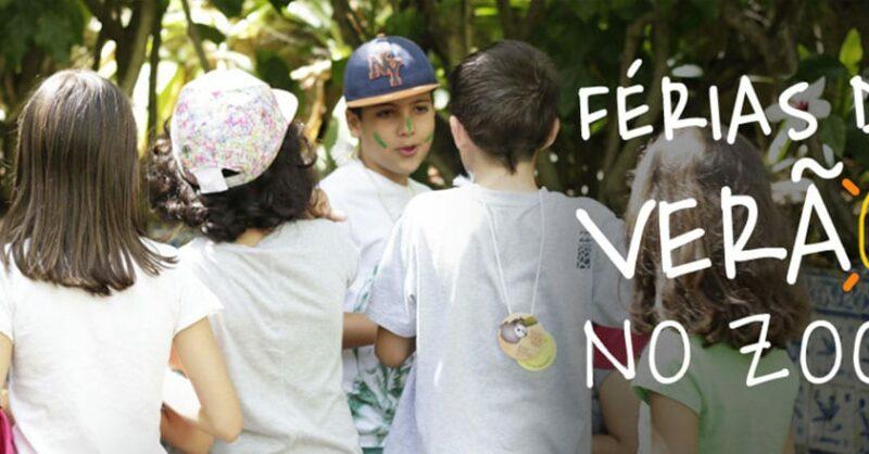 Férias de Verão no Zoo de Lisboa dos 3 aos 5 anos