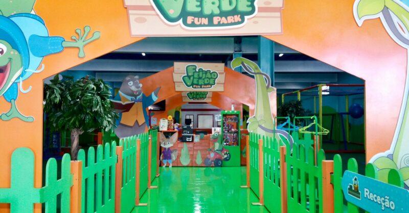 Diversão garantida no Feijão Verde Fun Park Leiria