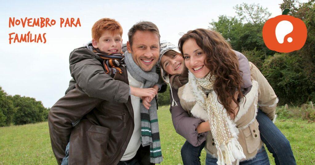 Sugestões de Actividades em Família para o Mês de Novembro