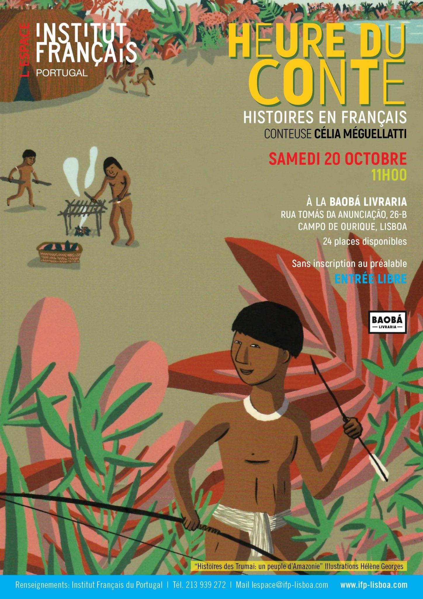 20 Outubro_Histoires des Trumai Un Peuple d'Amazonie