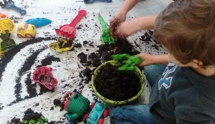 Vamos ao Jardim Jardinar, Sujar e Brincar com o Outono