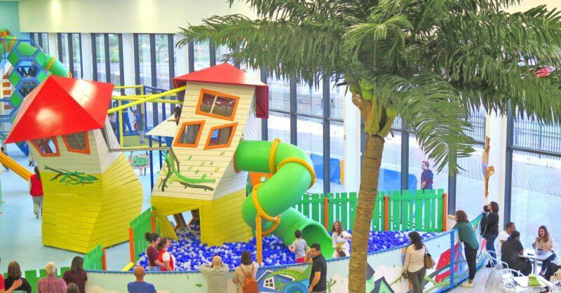 Divirtam-se no Fun Park Feijão Verde Sintra