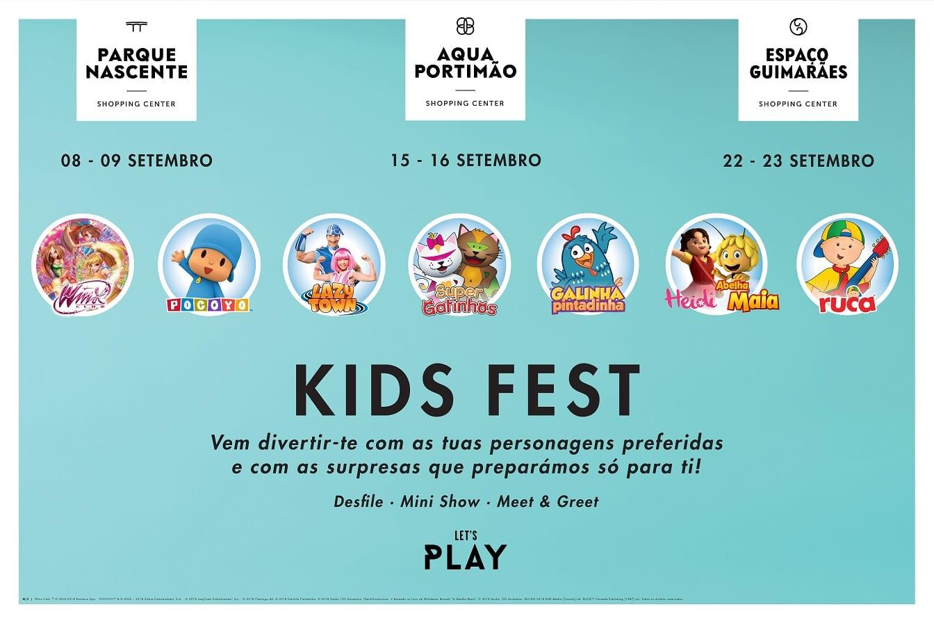 KIDS FEST chega aos centros Klépierre