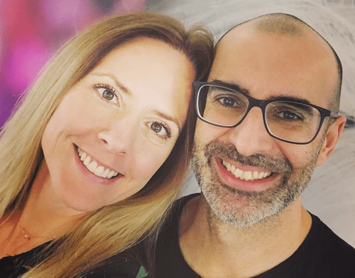 Mia Oven e Pedro Vieira