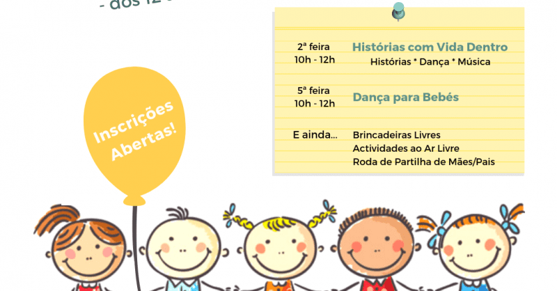 Playgroup para Bebés dos 12 aos 36 meses!