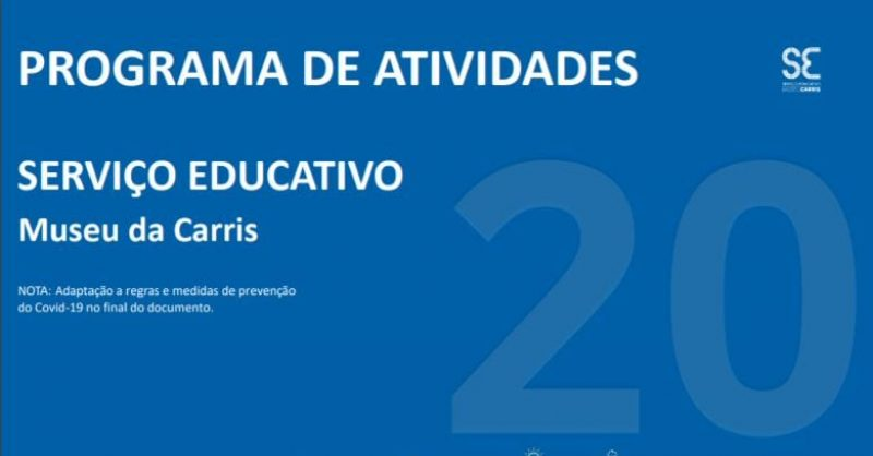 Programa Educativo do Museu da Carris 2020/2021
