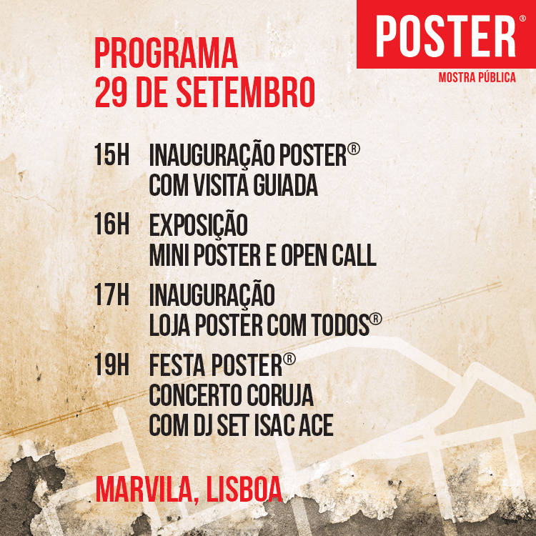 Programa Festival POSTER
