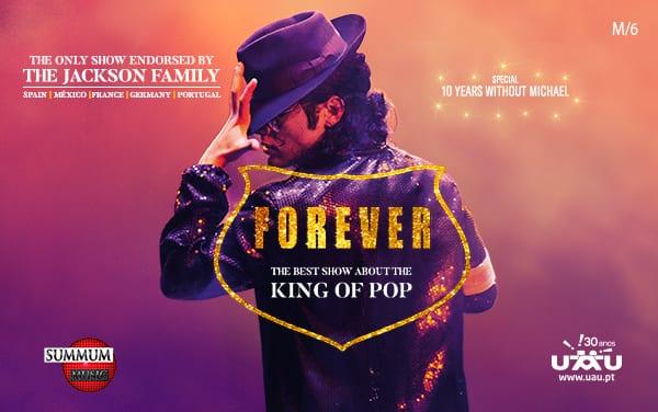 Cancelado – Forever King of Pop: espetáculo de Tributo a Michael Jackson