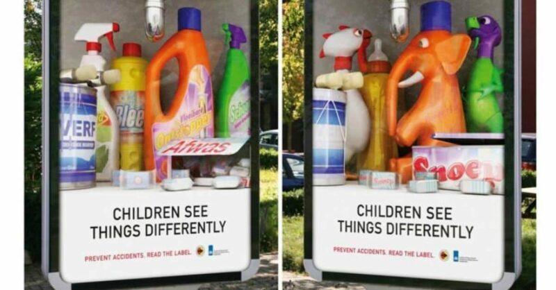 as crianças veem as coisas de forma diferente