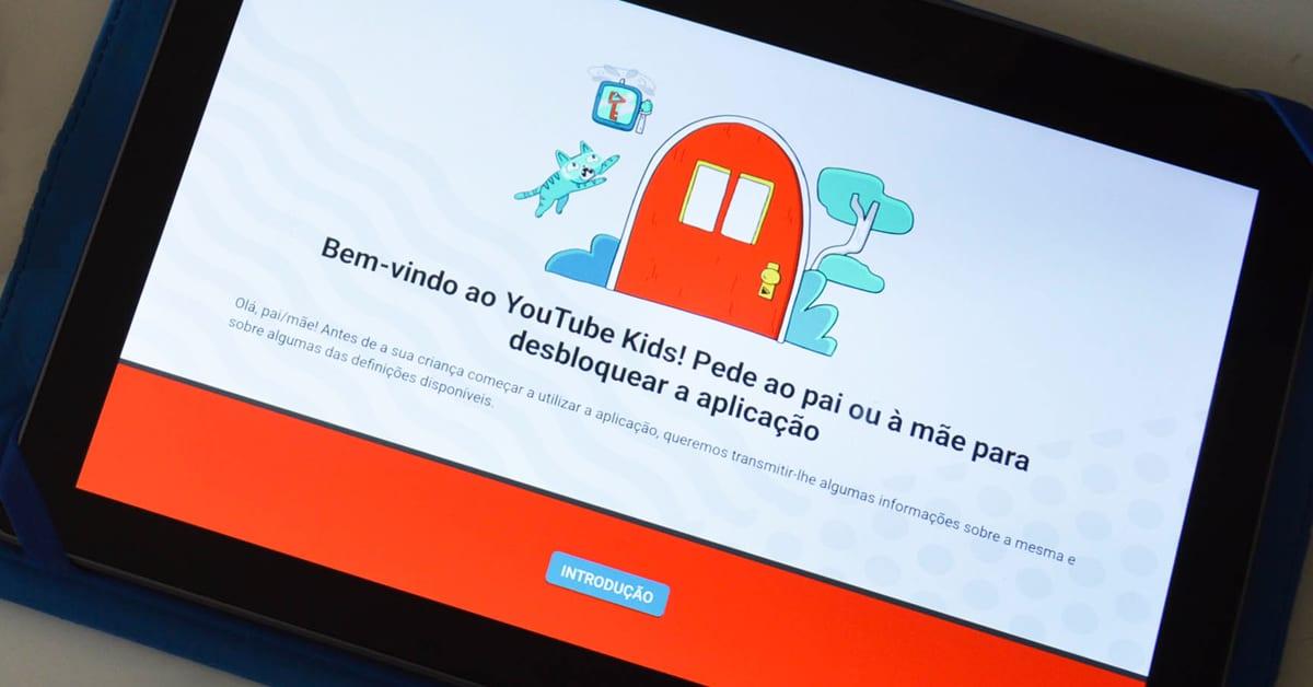 Youtube kids em Portugal