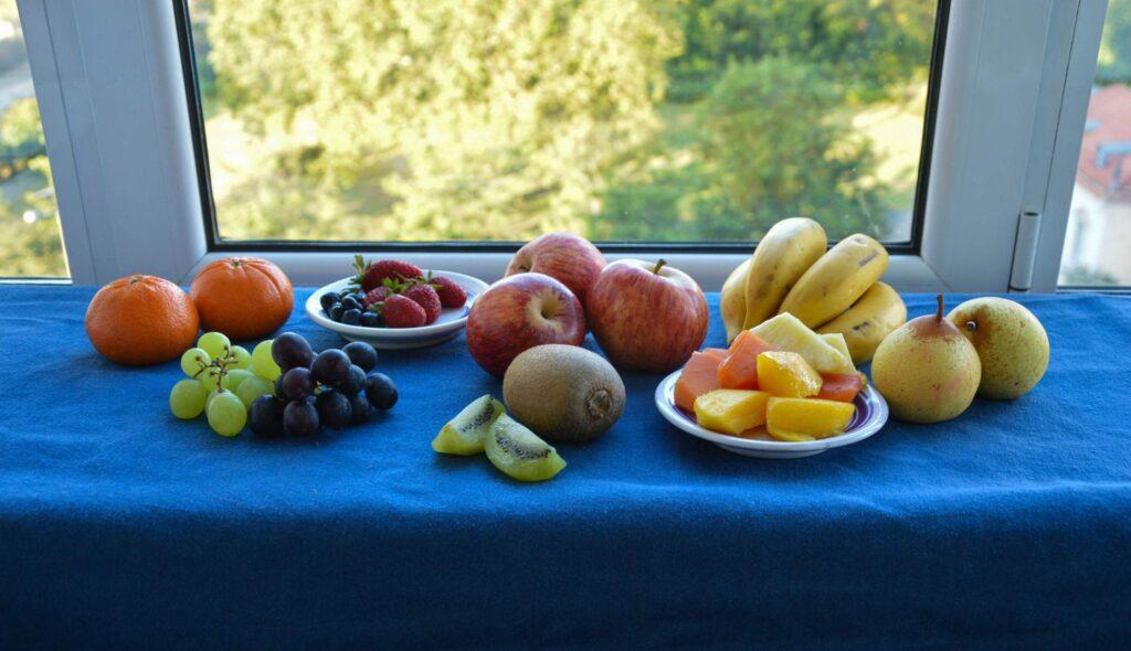 lanches variados - varie a fruta