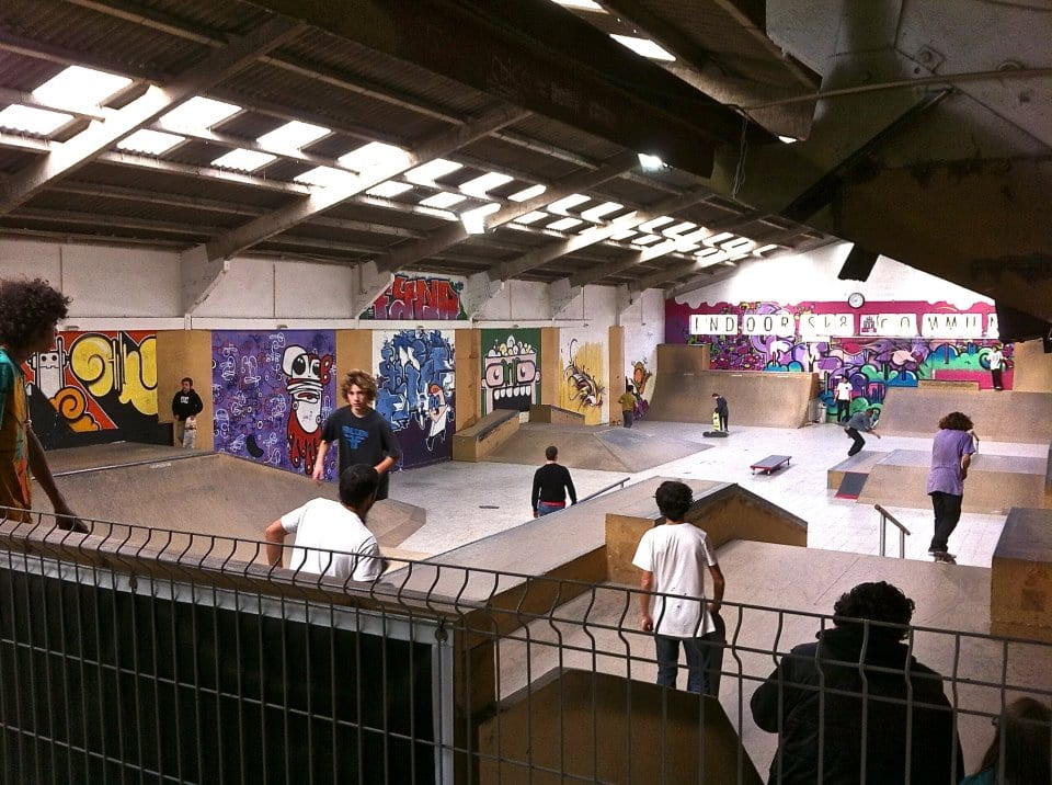indoor skate community