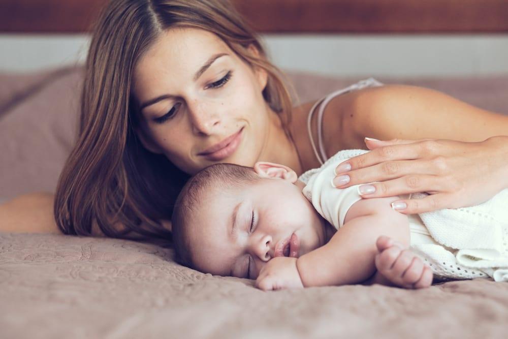 dormir leite materno