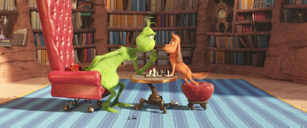 Grinch e Max
