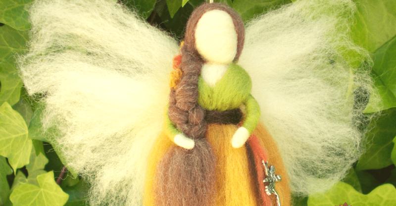 Workshop – Fadas em Lã De Merino (Inspiração Waldorf)