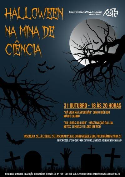Halloween Mina de Ciência