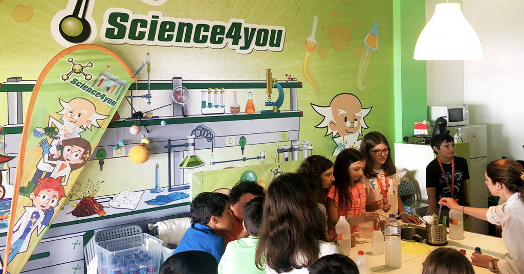 Aniversario Science4you