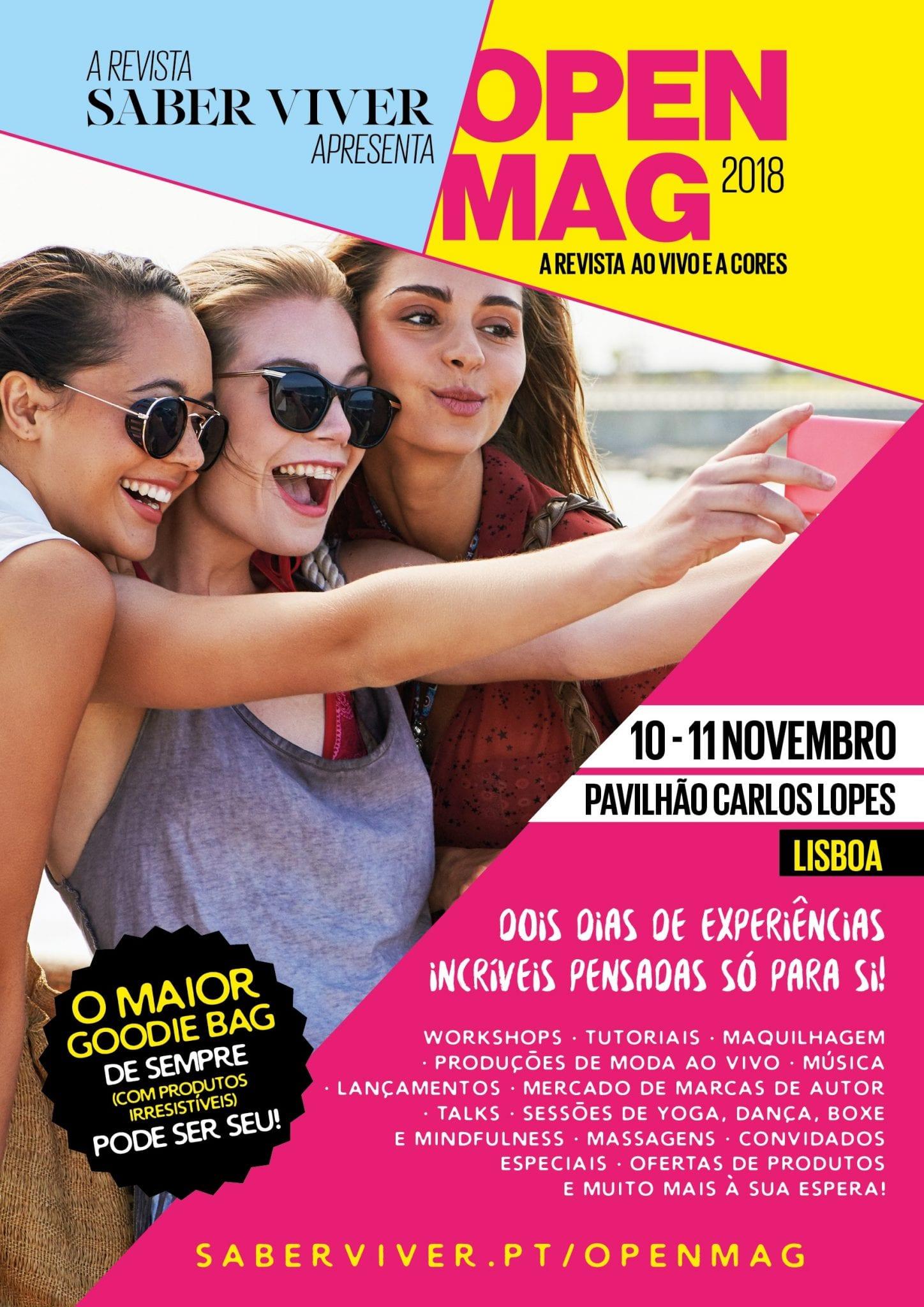 Saber Viver Open Mag Lisboa
