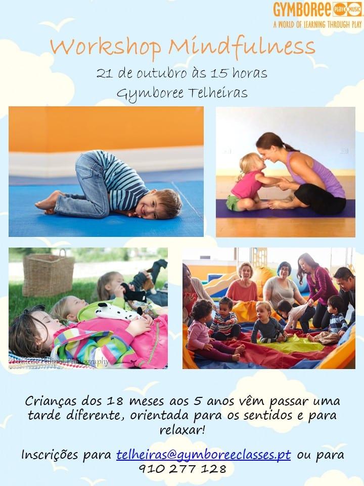 Workshop de mindfulness para crianças