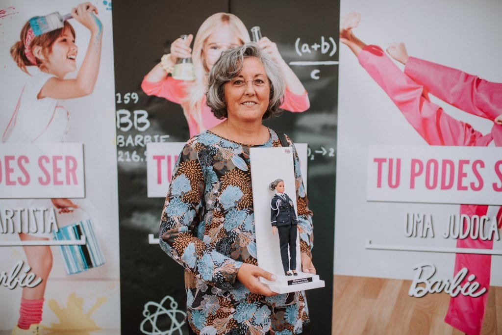 barbie awards 2018 - dia internacional da rapariga - superintendente Madalena Amaral - facebook barbie