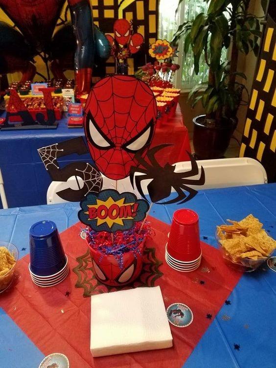 bolo homem aranha - festa homem aranha 2
