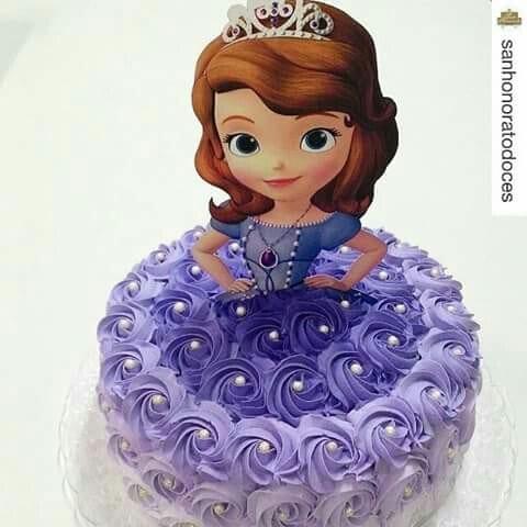bolo princesa sofia - festa princesa sofia - bolo princesa sofia 2