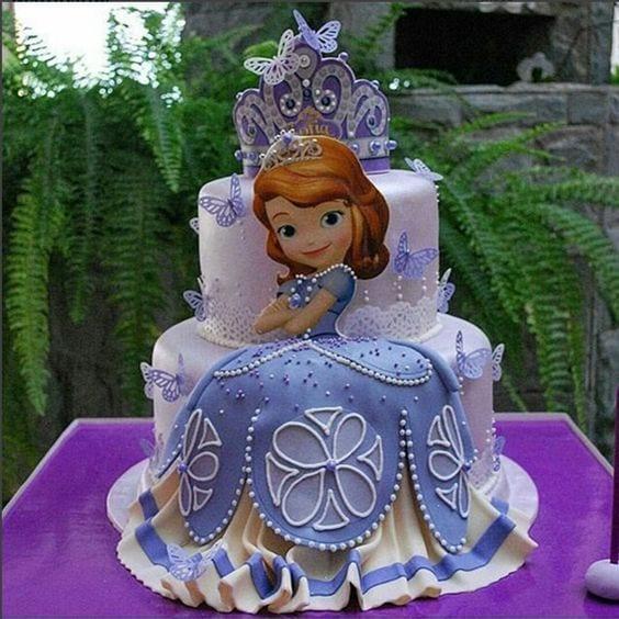 bolo princesa sofia - festa princesa sofia - bolo princesa sofia